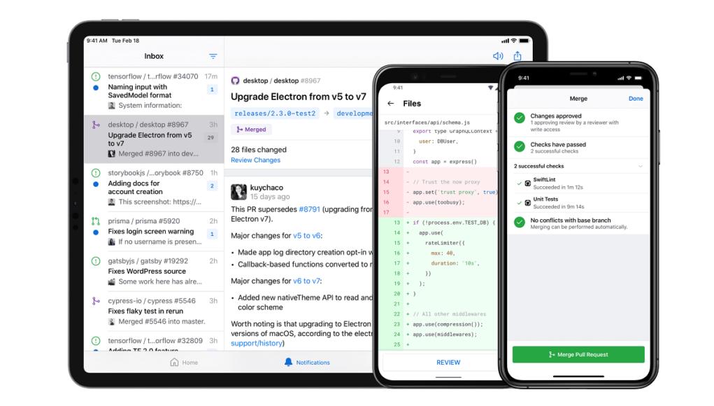 Ứng dụng GitHub đã chính thức có mặt trên Android và iOS