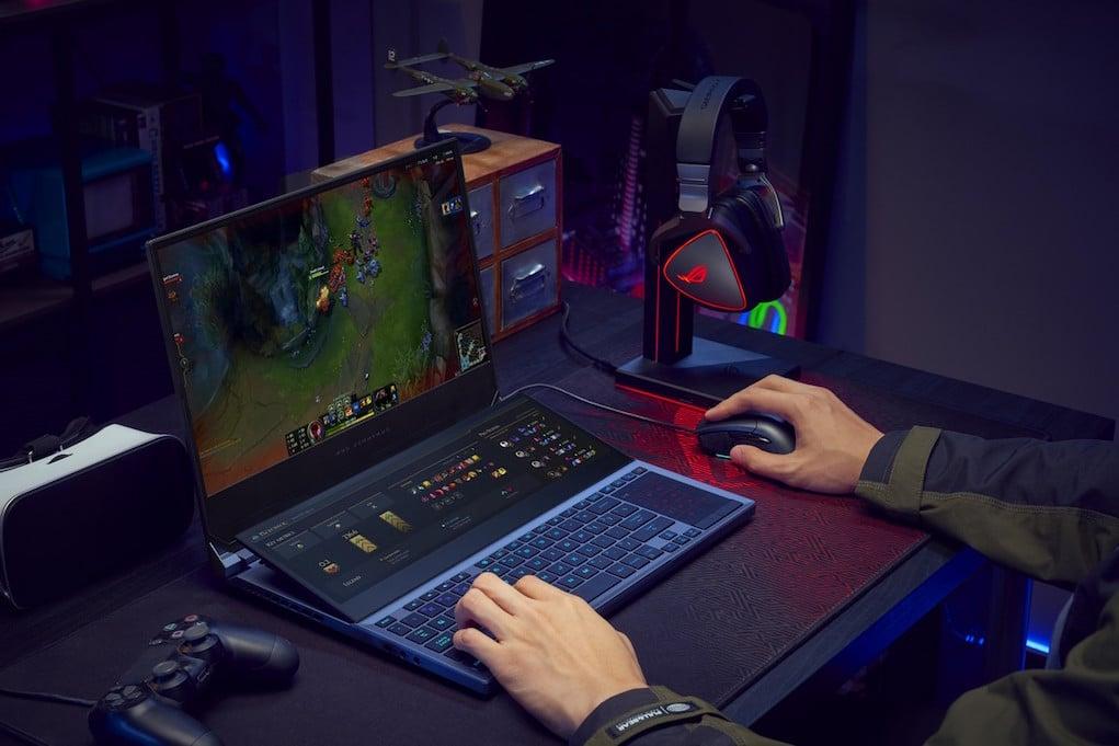 ASUS ROG ra mắt laptop gaming hai màn hình Zephyrus Duo 15