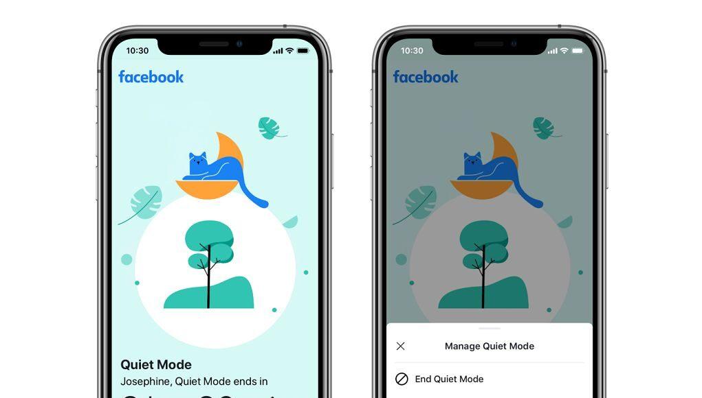 Facebook ra mắt Chế độ Im lặng giúp người dùng