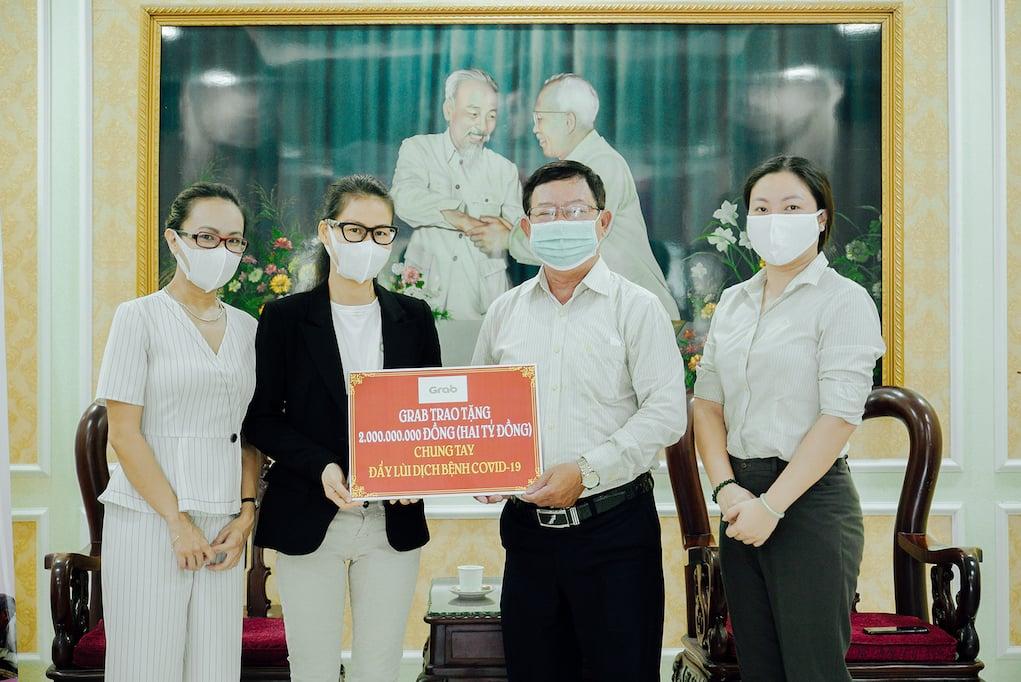 Grab triển khai thêm giải pháp mới hỗ trợ người dùng Việt ứng phó với dịch COVID-19