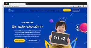 Website học trực tuyến Lora tặng miễn phí 100% khóa học Toán cho bé trong mùa dịch COVID-19