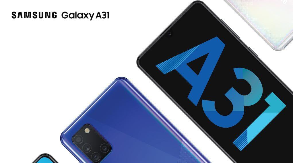 Samsung Galaxy A31 ra mắt: pin 5.000mAh, camera macro 5MP, bán ngay hôm nay