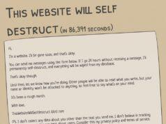 Trang web kỳ lạ tự hủy nếu người dùng ngừng đăng nội dung mới trong 24 giờ