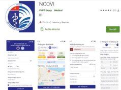 """Ứng dụng NCOVI có thêm tính năng """"Đăng ký điểm kiểm dịch"""""""
