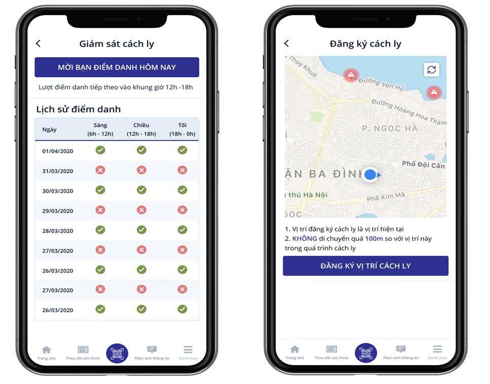 Từ 2/4, ứng dụng NCOVI thêm tính năng giám sát người cách ly
