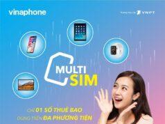 VinaPhone cung cấp dịch vụ MultiSIM trên toàn quốc