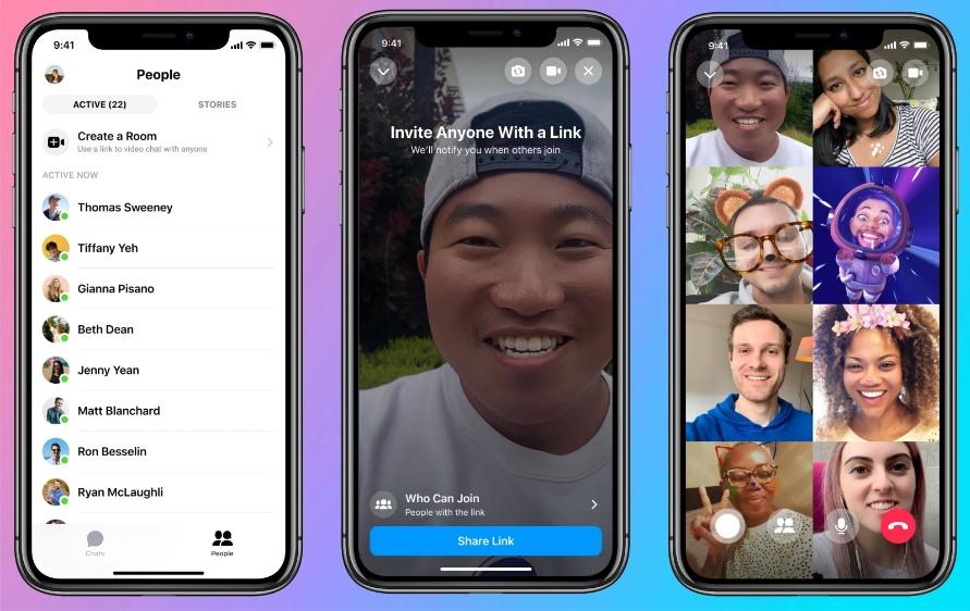 Cách sử dụng Messenger Rooms của Facebook trên điện thoại và máy tính