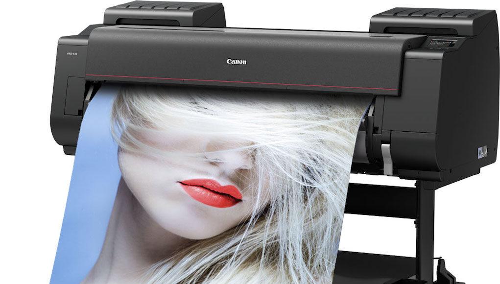 Canon ra mắt loạt máy in khổ lớn imagePROGRAF PRO Series