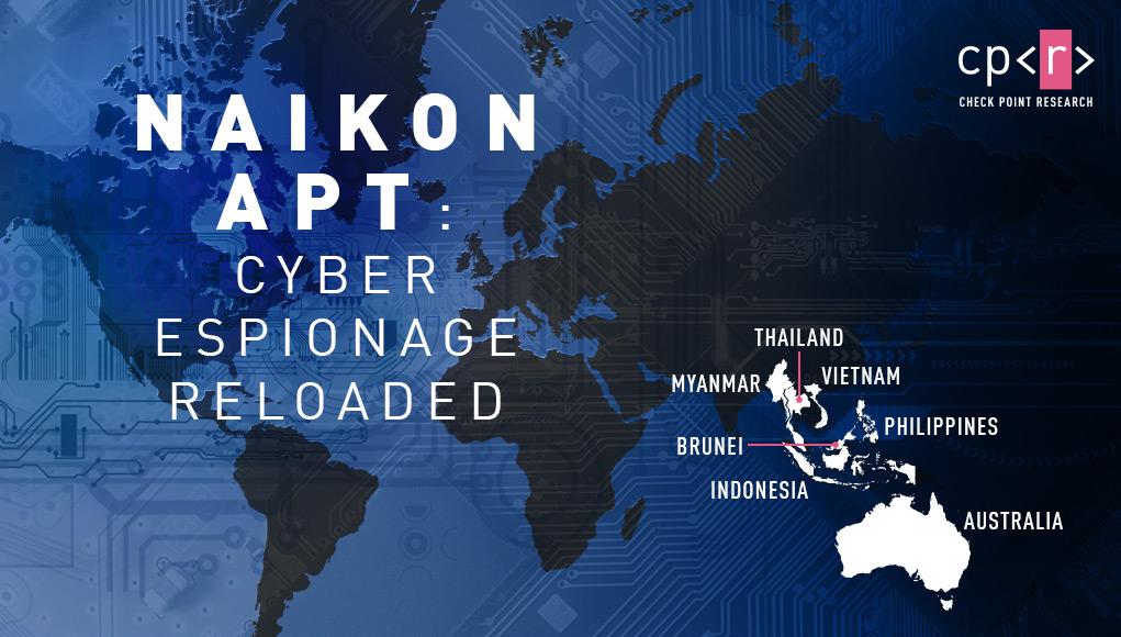 Nhóm tin tặc Naikon APT của Trung Quốc tấn công nhiều cơ quan chính phủ, trong đó có Việt Nam
