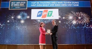 FPT là nhà tuyển dụng lĩnh vực CNTT hấp dẫn nhất với sinh viên Việt Nam