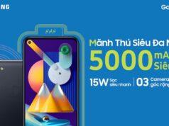 Samsung Galaxy M11 bán từ hôm nay, giá 3,7 triệu