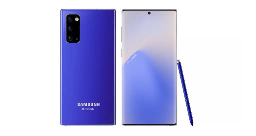 Rò rỉ thông tin sự kiện Unpacked Samsung Galaxy Note 20