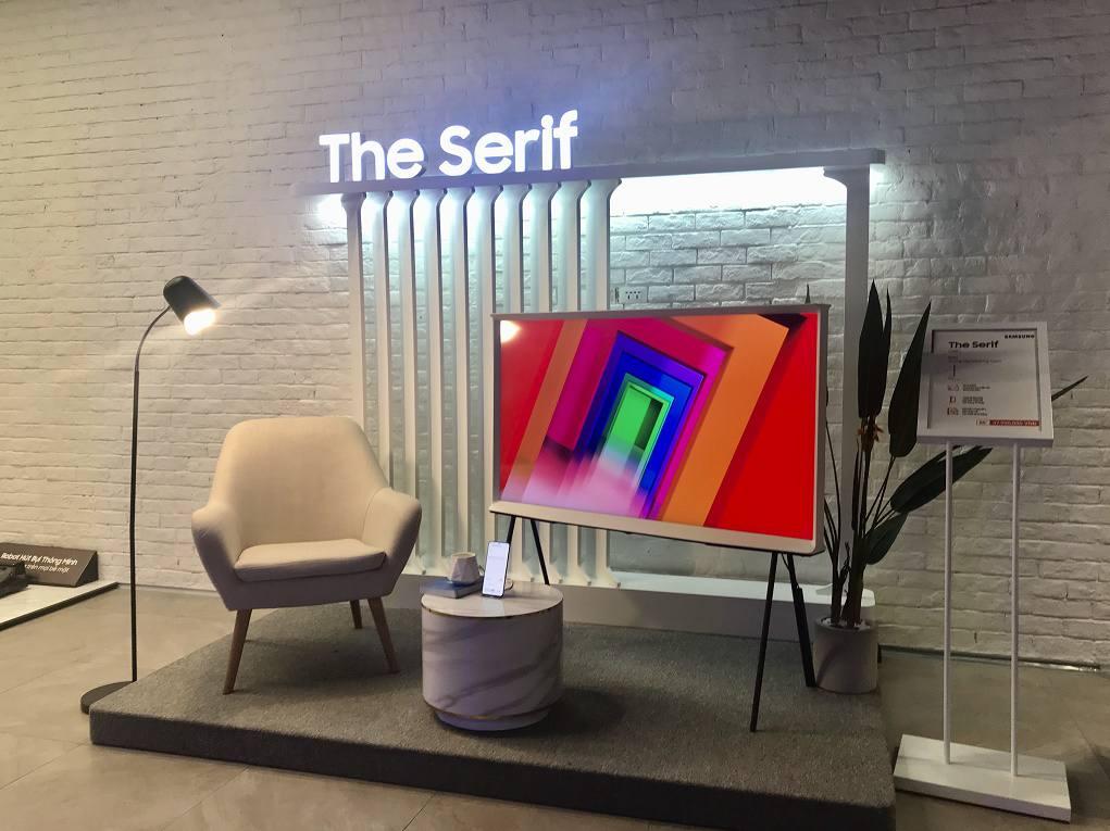 Trải nghiệm thực tế TV QLED 8K, The Frame, The Serif và The Sero 2020 tại Samsung 68
