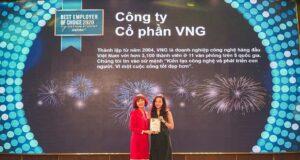 VNG đạt top 2 thương hiệu nhà tuyển dụng được sinh viên CNTT yêu thích