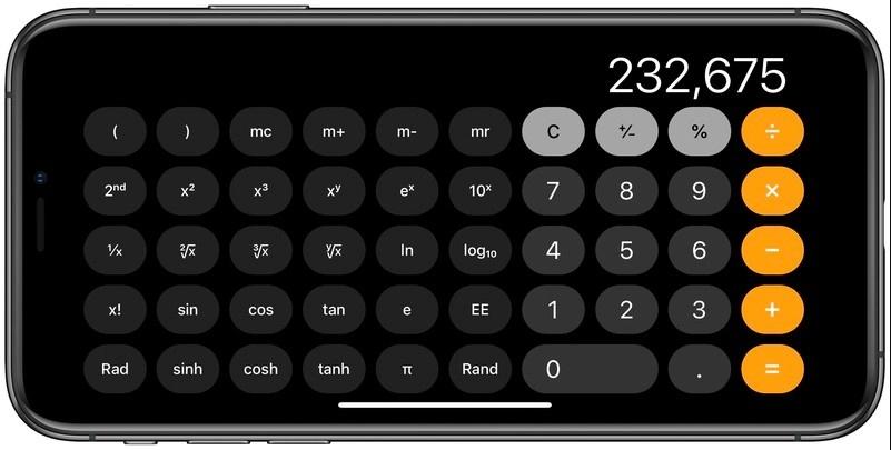 5 mẹo sử dụng ứng dụng Máy tính trên iPhone đơn giản và nhanh chóng