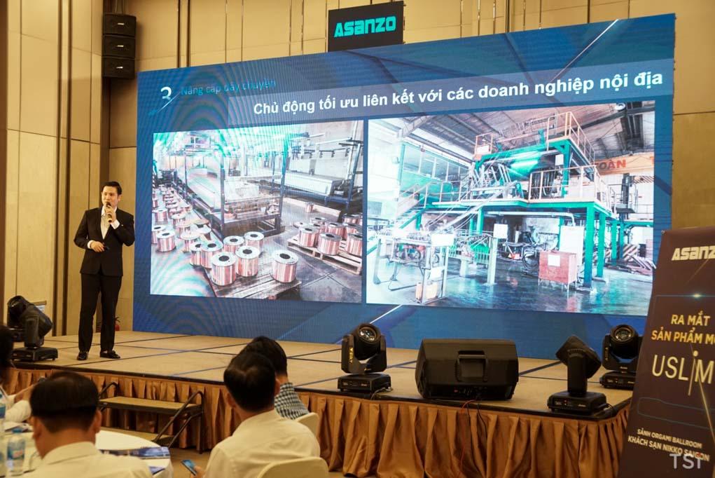 Asanzo ra mắt TV uSlim dùng màn OLED siêu mỏng, giá 96 triệu đồng