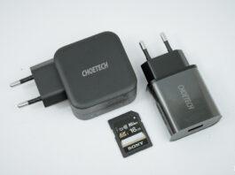Hai bộ sạc Choetech Q6006 và Choetech Q5003
