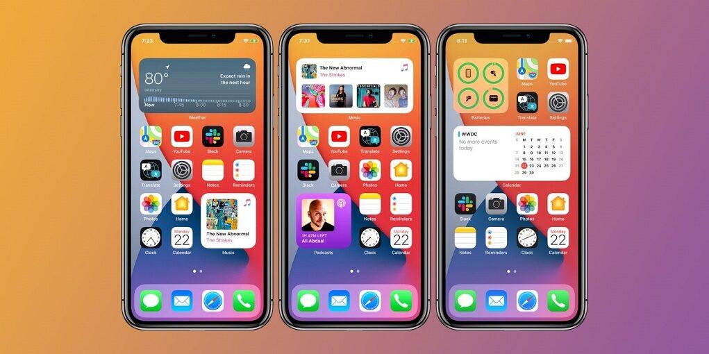 iOS 14 sắp trở thành