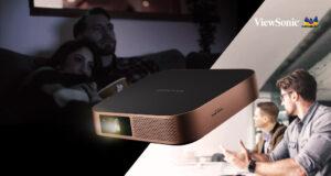 Ra mắt máy chiếu LED di động thông minh Viewsonic M2