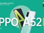 OPPO A52 mở bán độc quyền tại Thế Giới Di Động
