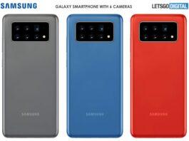 Samsung dự định phát triển smartphone có đến 6 camera sau