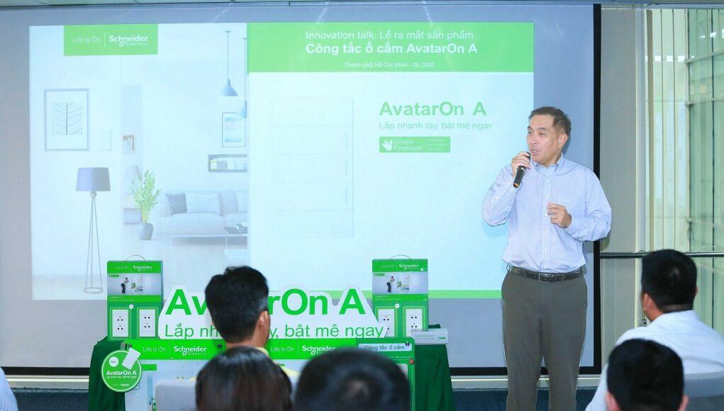 Schneider Electric ra mắt công tắc ổ cắm AvatarOn A
