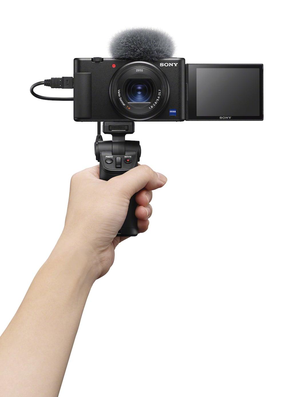 Sony ra mắt camera sáng tạo video nhỏ gọn ZV-1
