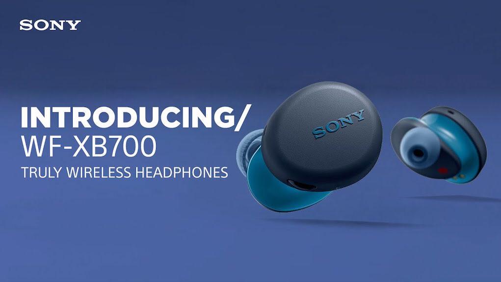 Ra máy tai nghe Sony Extra Bass True Wireless WF-XB700