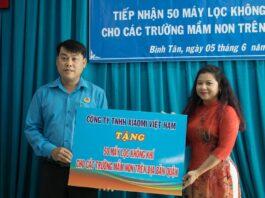 Xiaomi tặng 50 máy lọc không khí Mi Air Purifier 3H cho quận Bình Tân