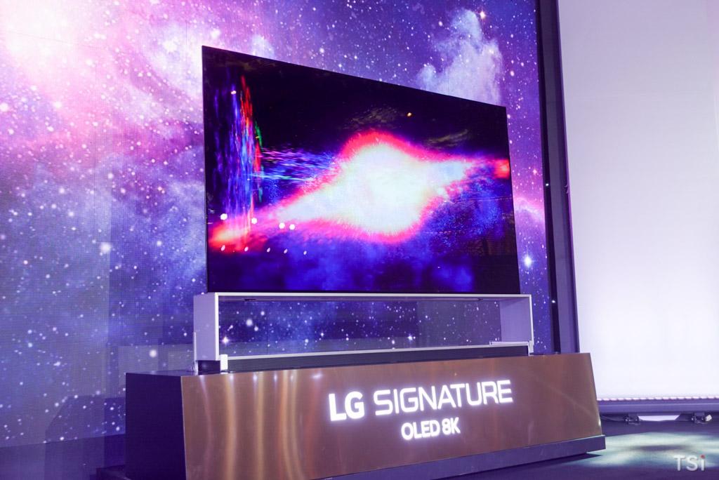 LG ra mắt thị trường Việt dòng TV OLED 8K đầu tiên trên thế giới