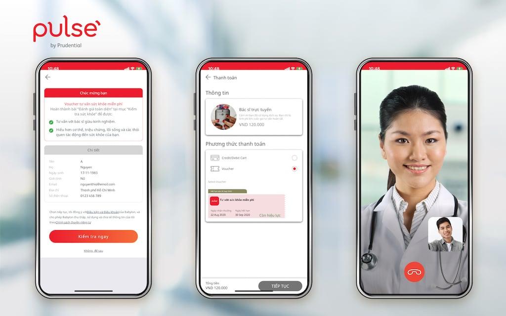 Ứng dụng Pulse by Prudential hỗ trợ tư vấn sức khỏe miễn phí với bác sĩ trực tuyến