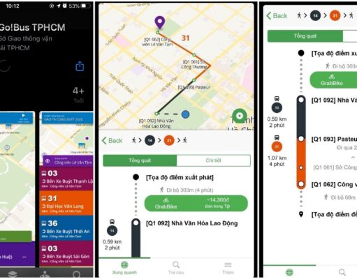 Ra mắt ứng dụng Go!Bus kết nối với Grab, cung cấp thông tin vận tải công cộng