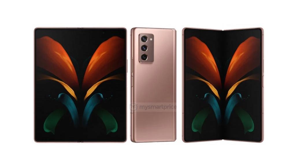 Galaxy Z Fold 2 có kiểu dáng trông như thế này?