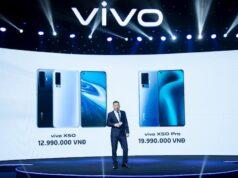 Bộ đôi vivo X50/X50 Pro ra mắt: camera gimbal, siêu chụp đêm, giá 12,99 và 19,99 triệu đồng