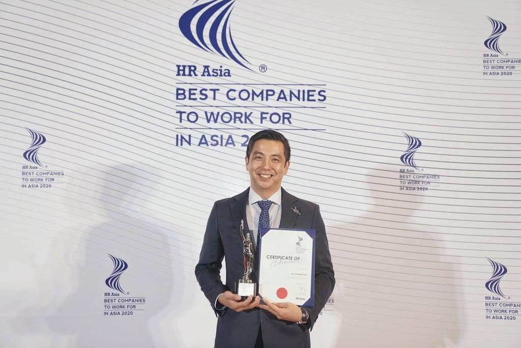 """VNG nhận giải thưởng""""Nơi làm việc tốt nhất Châu Á"""""""