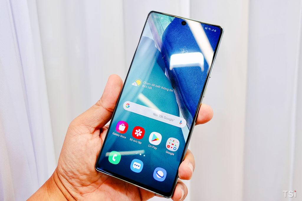 Ảnh thực tế Samsung Galaxy Note20/Note20 Ultra tại Việt Nam