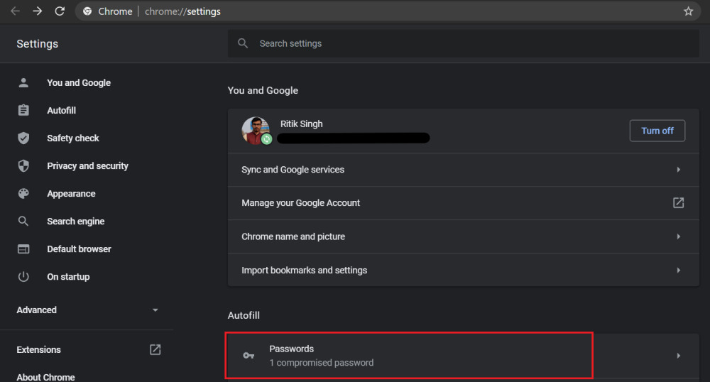 Làm thế nào để chuyển mật khẩu từ các trình duyệt khác sang Google Chrome?