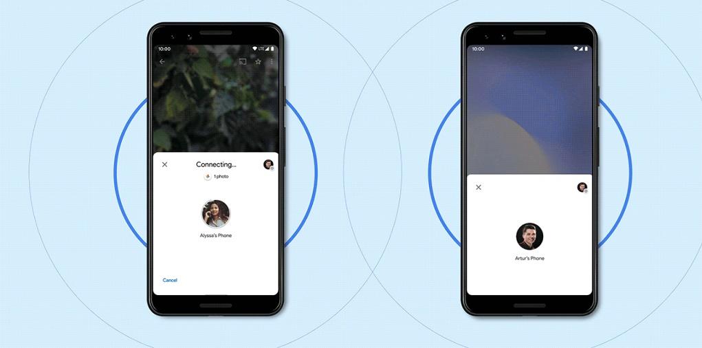 Google ra mắt Nearby Share, chia sẻ tập tin nhanh như AirDrop