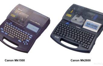 Canon ra mắt 2 máy in mã trên dây cáp Mk2600 và Mk1500