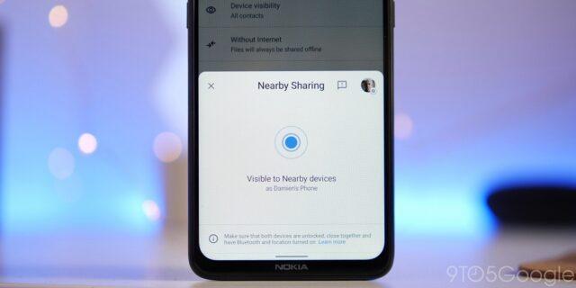 Dùng Nearby Share để chia sẻ tập tin nhanh chóng giữa các thiết bị Android