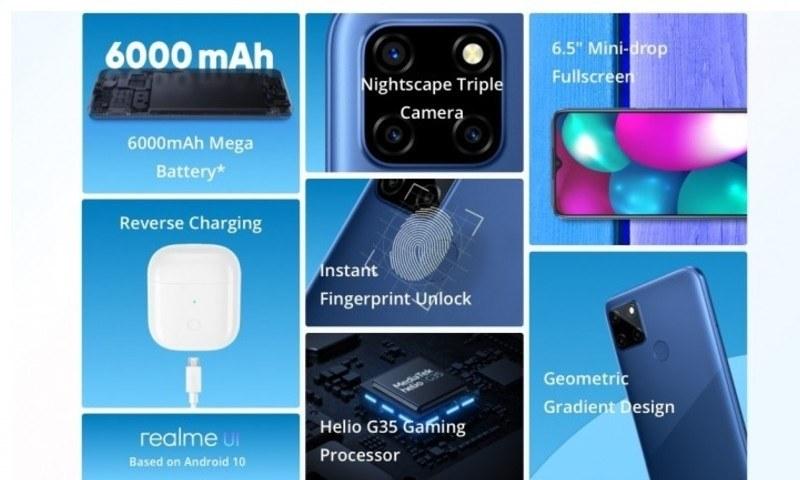 Realme C12 giá rẻ, pin 6.000 mAh sẽ ra mắt tại Việt Nam từ 25/8