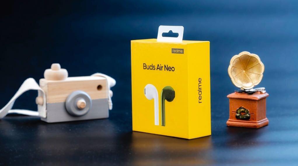 Ra mắt tai nghe Realme Buds Air Neo, bán từ 28/8