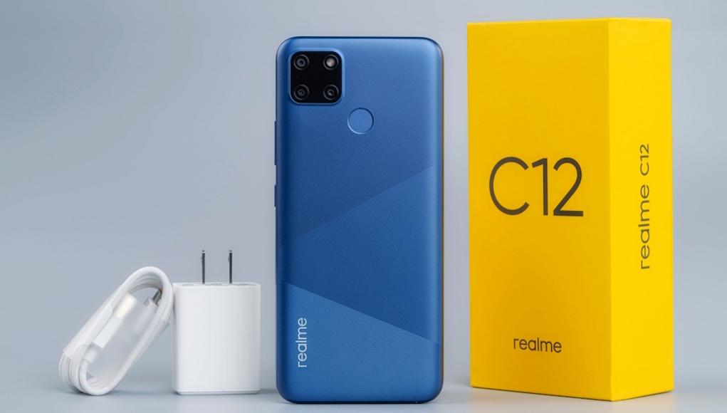 Realme C12 chính thức ra mắt, bán từ 28/8 giá 3,5 triệu đồng
