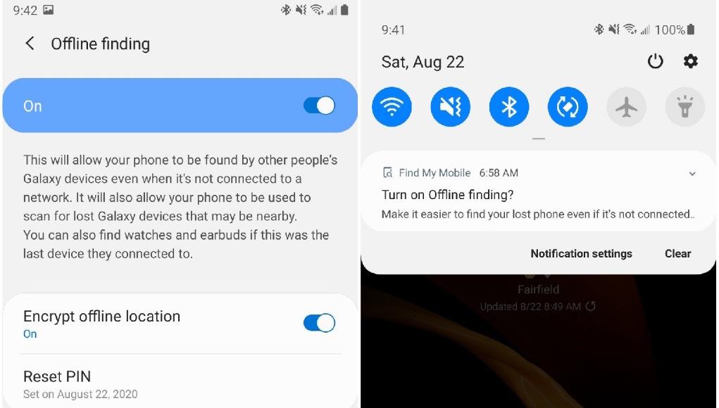 Thiết bị Samsung sẽ sớm có chức năng Find My Mobile ngoại tuyến?