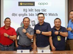 Thế Giới Di Động độc quyền phân phối smartwatch đầu tiên của OPPO