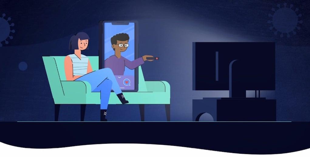 Tinder hiến kế cách hẹn hò trong thời điểm giãn cách xã hội