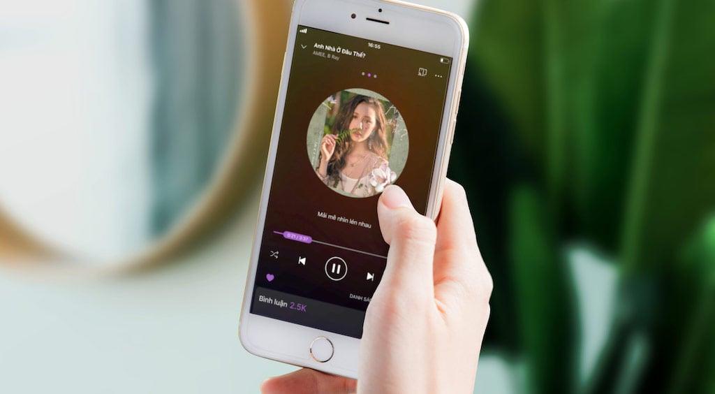 Zing MP3 miễn thu phí nghe nhạc chất lượng cao 320Kbps