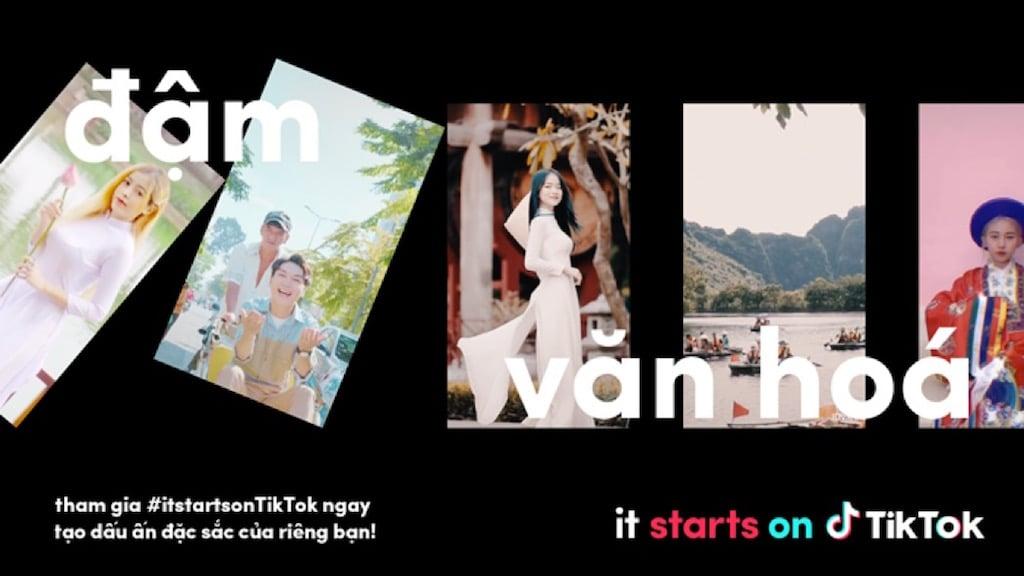 Ra mắt chiến dịch 'it starts on TikTok' tôn vinh cộng đồng sáng tạo nội dung