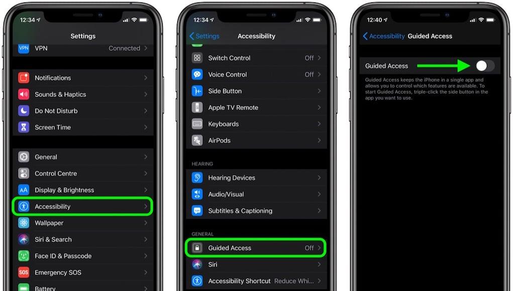Sử dụng Guide Access trên iOS (iPhone/iPad) tránh bị làm phiền khi chơi game
