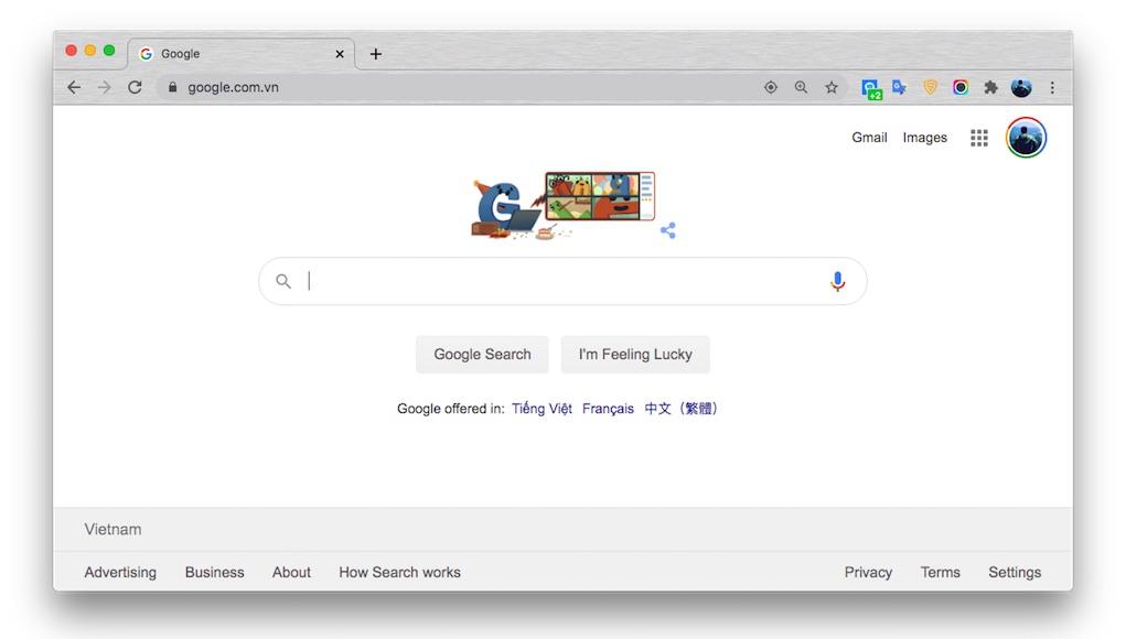 Hôm nay Google Doodles kỷ niệm Google tròn 22 tuổi